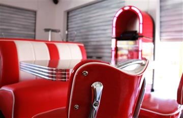 Fifties diner bar