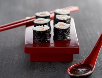 Les sushis.